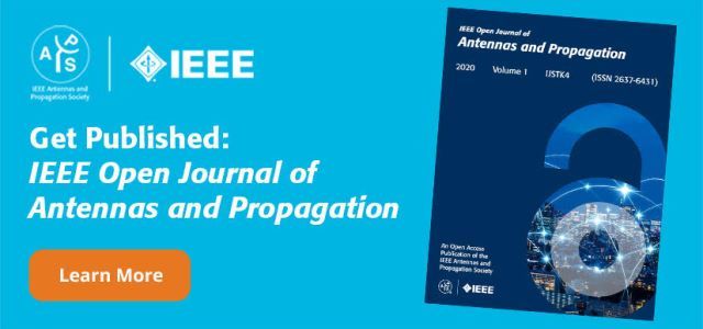Antennas and Propagation Open Journal cover